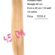 Extensiones cabello humano adhesivas Flex