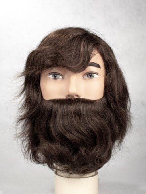 Grant con barba